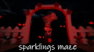 Candy Hunt// Royalween Sparklings' Maze// Roblox