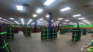 Head Cam Footage Nerf Rival Charger Foam Warriorz NKY