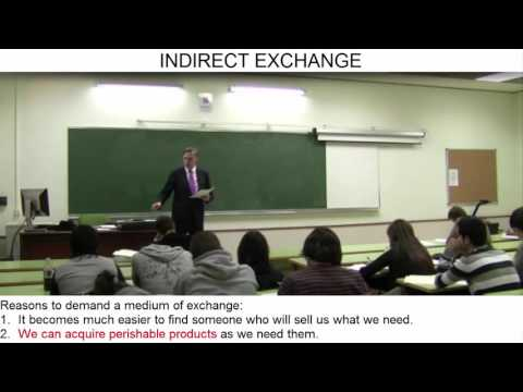 Day 19 (video 5) - Money as a Medium of Exchange