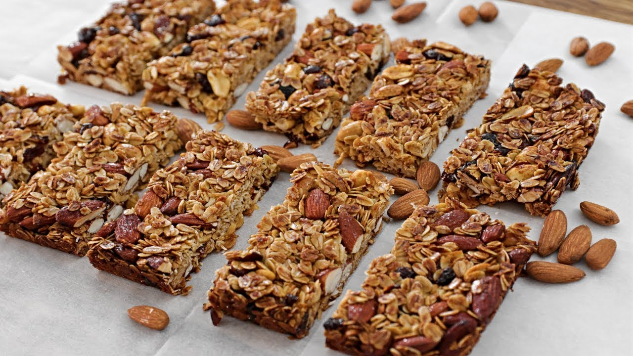 Healthy Granola Bars Recipe