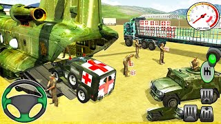 Kaiser M715 Jeep Army Ambulance Rescue Driving Simulator - Android Gameplay 2