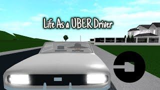 Being a Uber/ Taxi Driver in BloxBurg!- Roblox