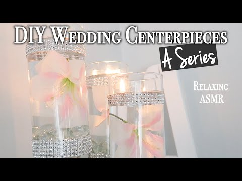 Easy Glam Wedding Centerpiece DIY ~ Dollar Tree DIY (Series) #3