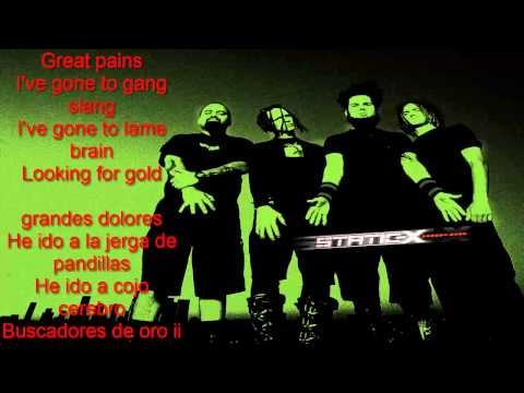 Static-X - I'm with Stupid (Lyrics - Sub Español)