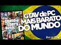 GTA V pra PC no Brasil é o mais Barato do Mundo!