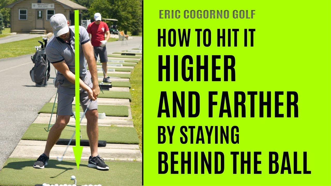 GOLF: How To Hit It Higher And Farther By Staying Behind ...