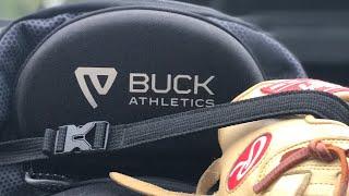 BUCK ATHLETICS BATPACK BAG. BEST BASEBALL BAG EVER