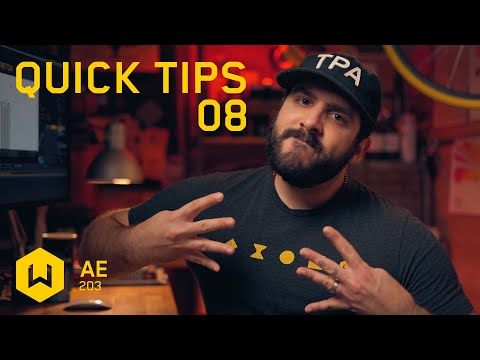 After Effects Quick Tips 08