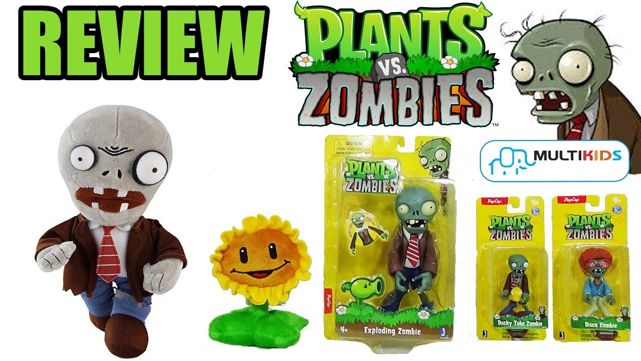 review produtos plantas vs zumbis da multikids youtube