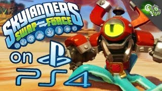 Skylanders SWAPFORCE PS4 Gameplay Impressions!