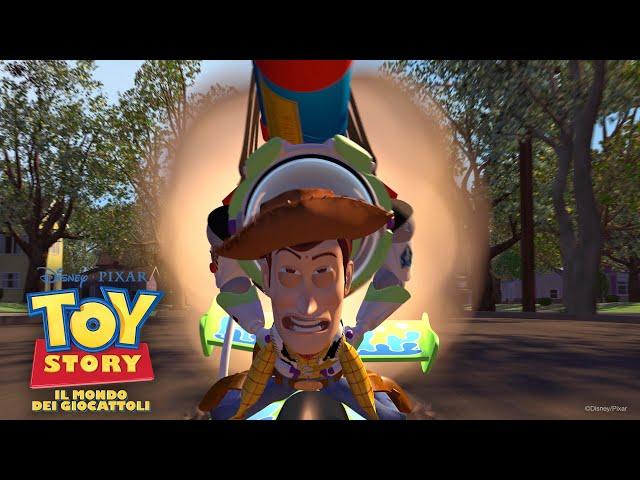 Woody e Buzz prendono il volo | Toy Story - Il Mondo dei Giocattoli