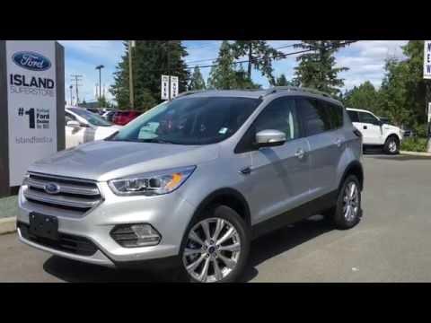 2017 Ford Escape Anium Ecoboost 4wd Nav Review Island You