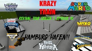 Rigs Of Rods Monster Jam Monster Truck REVIVAL TOUR SEASON 2 EPISODE 10: HAMBURG HAFEN!!