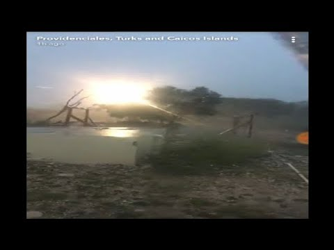 Raw Videos Of Hurricane Irma at Turks and Caicos Islands Video compilations