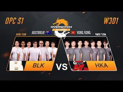 BLK vs HKA | W3D1 Match 1 | OPC S1