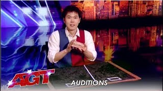 Eric Chien: The UNBELIVEABLE Card Magician (NOT Named Shin Lim!) | America's Got Talent 2019