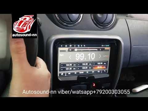 "Штатная Магнитола ZH Renault Duster 8""(8 ядер 2/32)android 8.1"