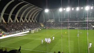 Amiens Monaco ambiance après le but d'AMIENS