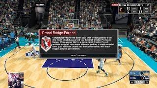 nba 2k17 shot creator pro grand badge