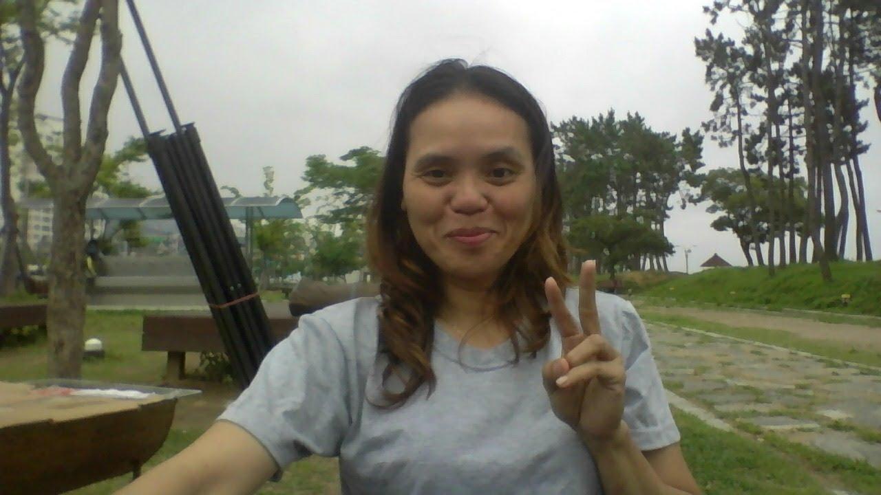 live chat sa tabing dagat at paglagay ng tent with my