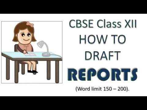 Report Writing Format and Samples | CBSE Class 12 and Class 11