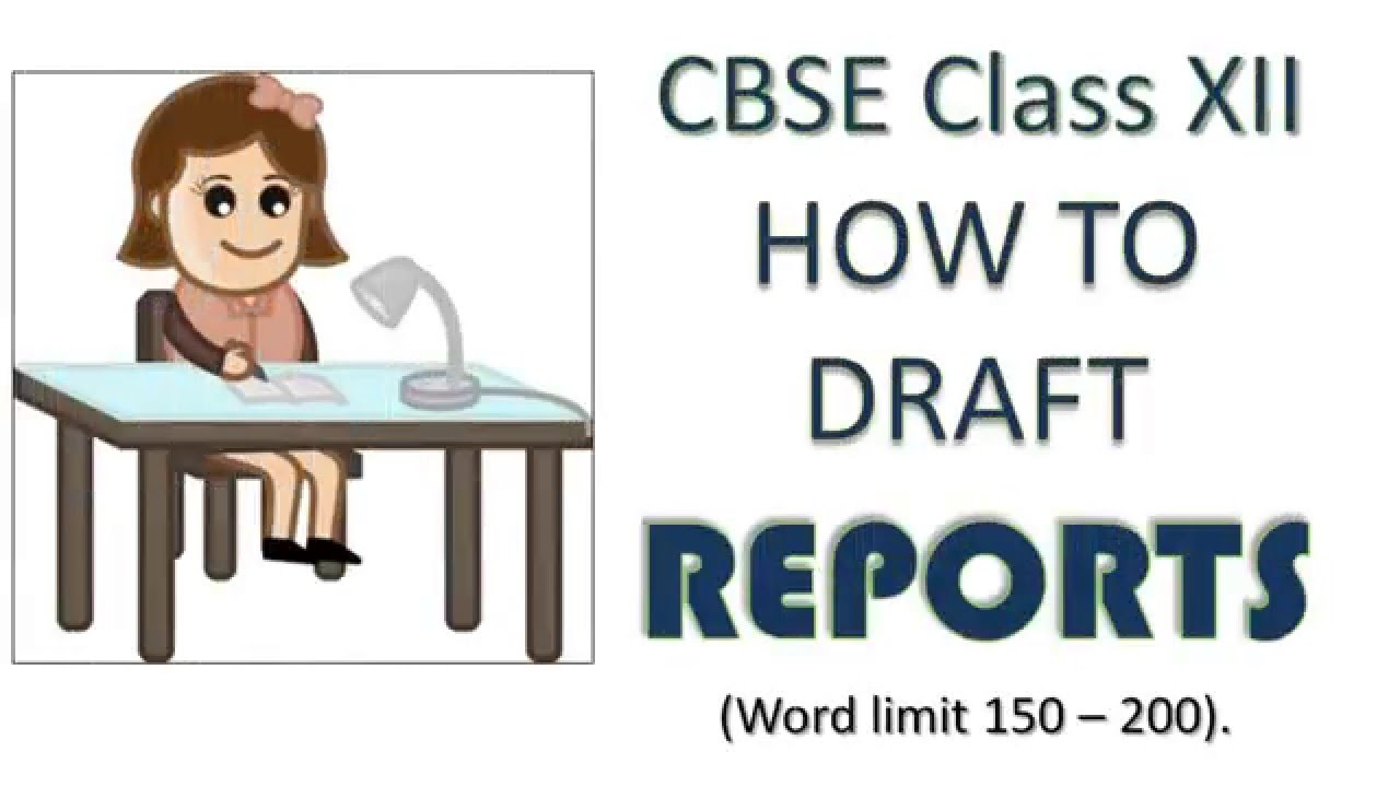 Report writing help of cbse 11