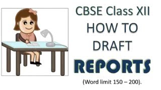 Report Writing Format and Samples | CBSE Class 12 and Class 11 thumbnail