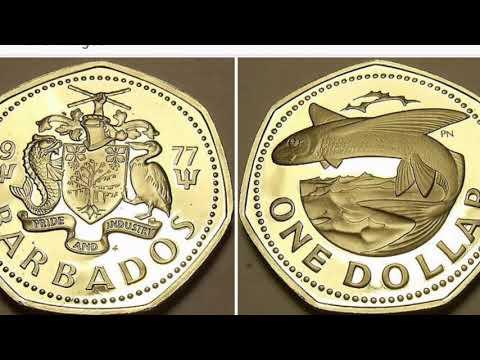 1977 Barbados One Dollar Coin WORTH?
