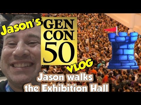 Jason walks the Exhibition Hall!
