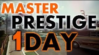 How to RANK UP FAST In Black Ops 2 - Get PRESTIGE MASTER in 1 Day!!! AMAZING GLITCH