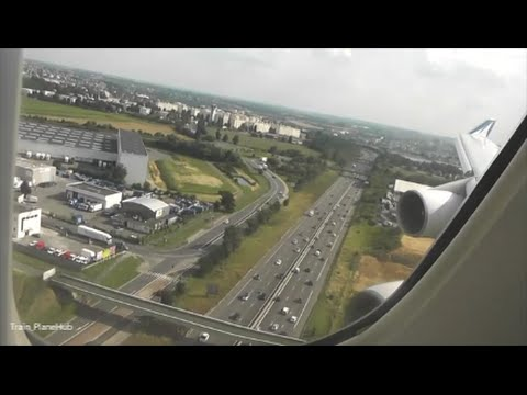 Corsair 747 Approach & Landing at Paris Orly