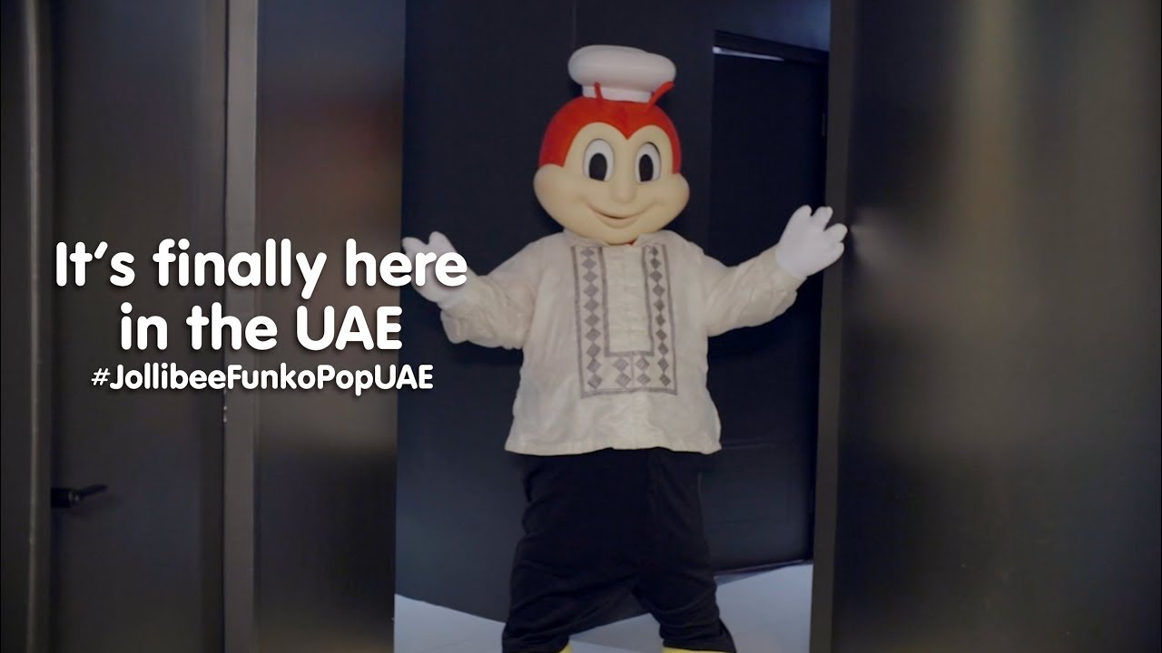 Jollibee Funko Pop is finally here in the UAE