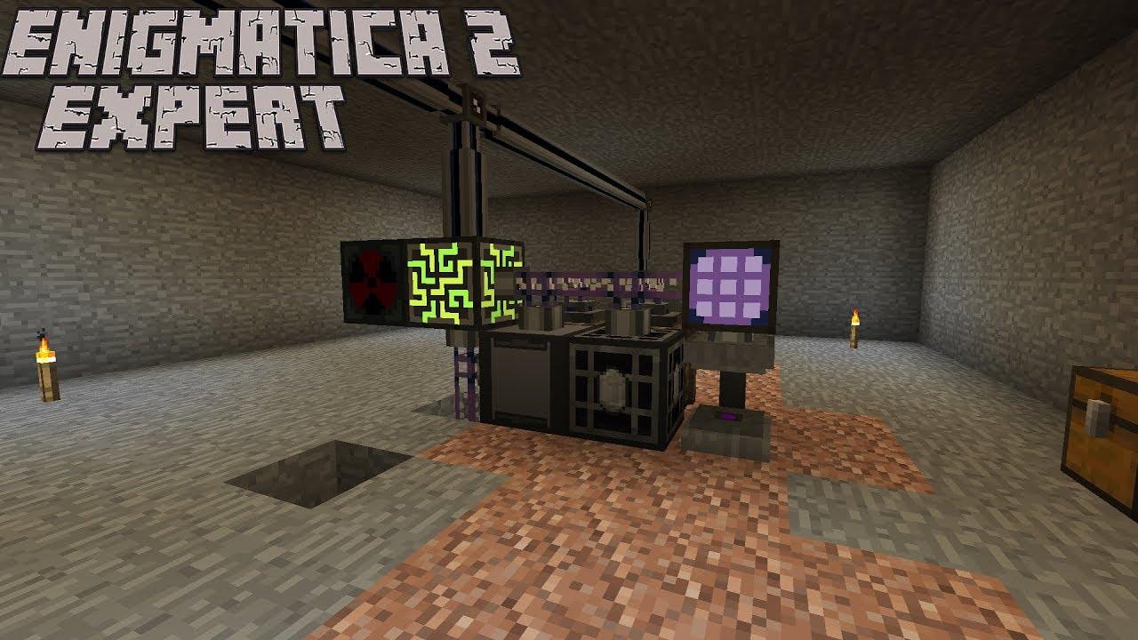 Starting Applied Energistics : Enigmatica 2 Expert Lp Ep #33 Minecraft 1 12