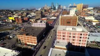 2015 World Series Parade in Kansas City time-lapse.