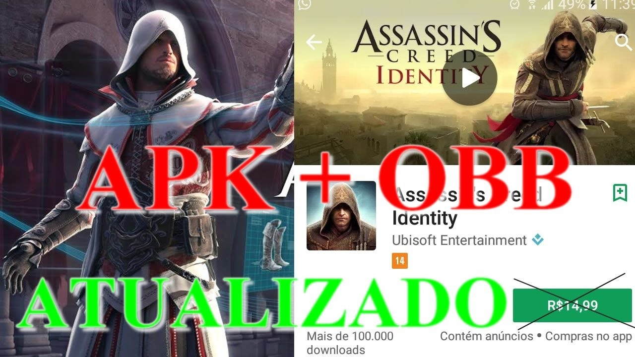Assassins Creed Identity APK + OBB [2017]  #Smartphone #Android