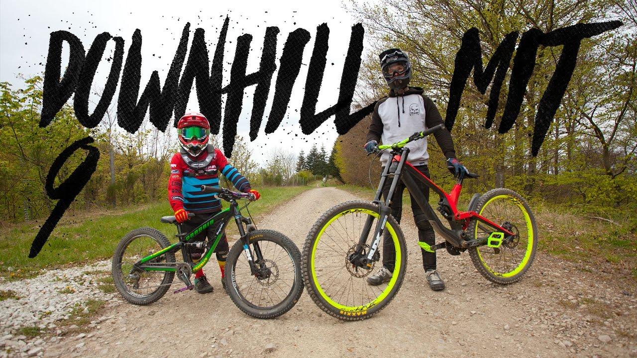 Downhill Mit Dem Neunjahrigen Johann Schumacher Im Trailpark Mehring