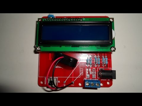 M8 Transistor Tester (ESR Meter) Aufbau from banggood.com