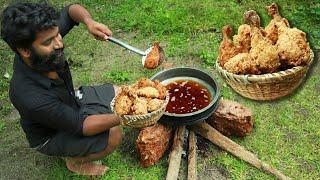 KFC CHICKEN MAKING AT HOME | KFC ചിക്കൻ വീട്ടിൽ തന്നെ ഉണ്ടാക്കാം | M4 Tech |