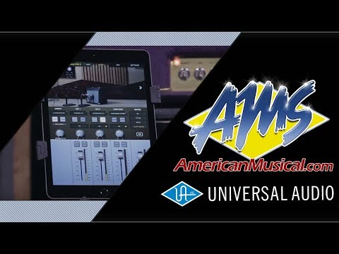 Universal Audio OX Amp Top Box Overview - American Musical Supply