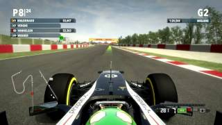 F1 2012 Gameplay Ita PC Gran Premio di Spagna Qualifiche - Analisi e riflessioni circuito -