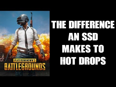 The Difference A Solid State Hard Drive External SSD Makes To Xbox One OG PUBG Hot Drops