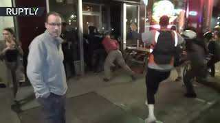 BJJ Black Belt Tom Tegner and His Skinhead Gang Get Smashed by Proud Boys