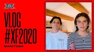 il PRIMO VLOG dei MANITOBA a X FACTOR 2020