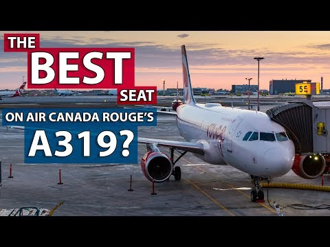 Air Canada Rouge A319 Exit Row Review - Montreal To Calgary