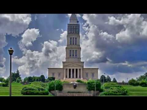 Visiting George Washington Masonic National Memorial, Building in Alexandria, Virginia, USA