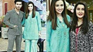 """Khaani"" ki Cast Feroz Khan our Sana Jawaid At Geo Subah Pakistan !"