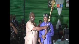 Gov. Ikpeazu tasks traditional rulers on honesty, selfless service (video in Igbo)