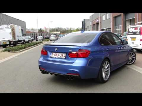 BMW F30 320D Diesel Sport exhaust UITLAAT - SPORTUITLAAT system with nice sound by Maxiperformance