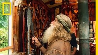 A Visit to the Leather Maker | The Legend of Mick Dodge