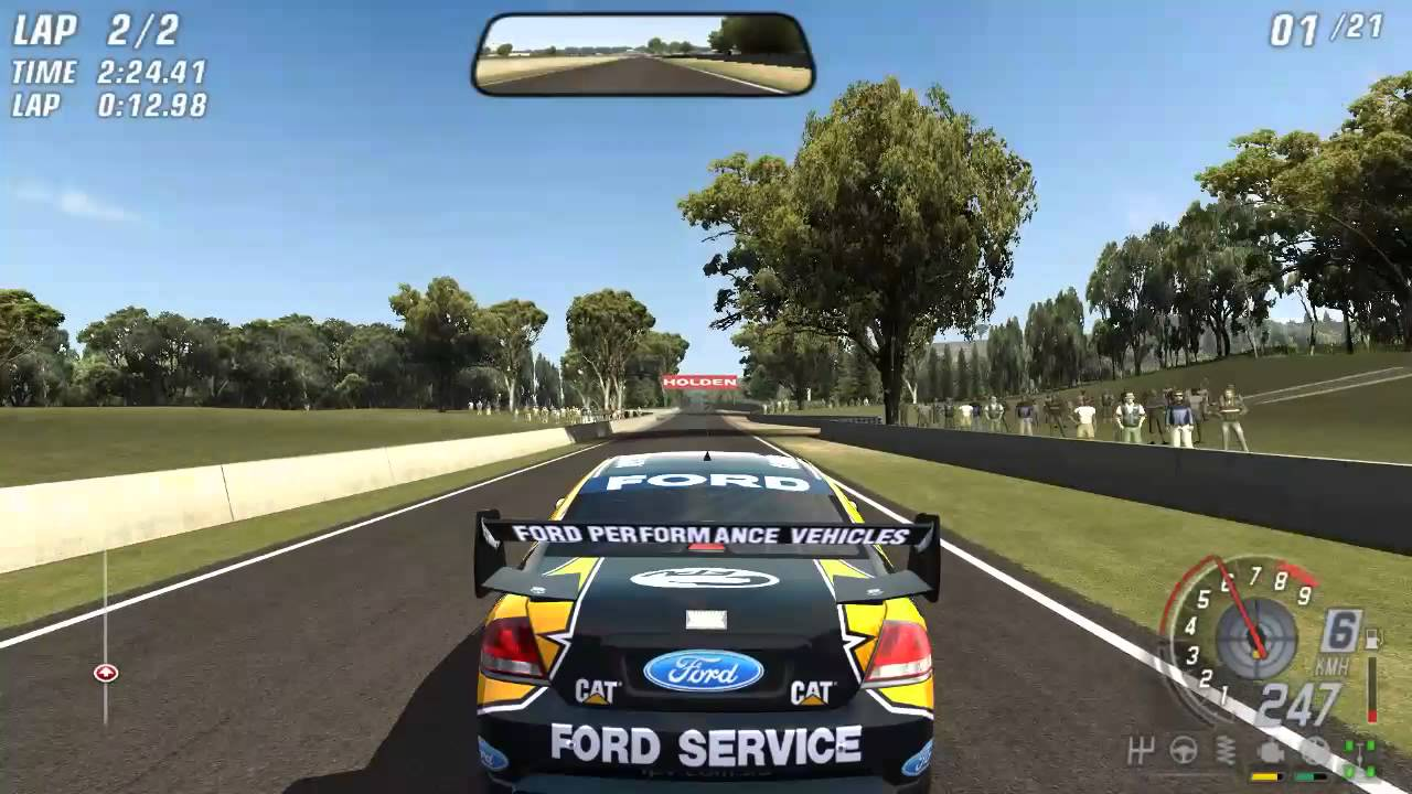 V8 Supercars 3 Toca Race Driver 3 Pc Gameplay Youtube
